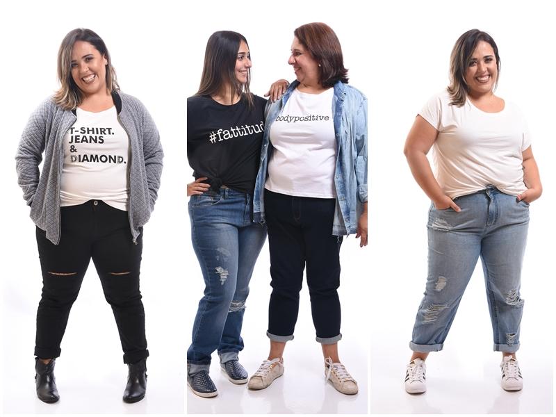 8680bc2f9 Focada na essência da mulher e em deixá-la à vontade para ser o que quiser,  a marca nasceu para aumentar a oferta de jeans para mulheres gordas.